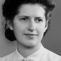 Geneviève de Gaulle Anthonioz jeune femme
