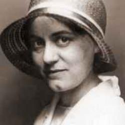 Edith Stein au chapeau