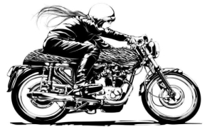 fille-moto