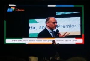 Enrico Letta aux Semaines Sociales, 18/11/2017